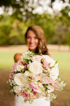 This blush pink bouquet is SO stunning!! Love this round bouquet for an outdoor, summer wedding. Such a pretty, pink bouquet! Taken at THE SPRINGS in Edmond. Follow this pin to our website for more information, or to book your free tour! Photographer: Holli B Photography #bouquet #bouquetideas #pinkbouquet #pinkwedding #pinkweddingideas #blushpinkbouquet #blushbouquet #blushpinkwedding #blushwedding #naturalwedding #summerwedding #summerbouquet #summerweddingideas