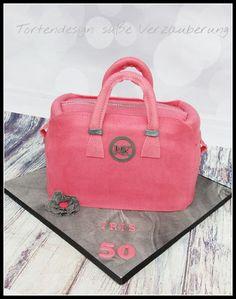 Handtaschen-Torte / handbag cake