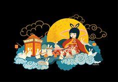 Mid-Autumn Festival Illustration on Behance