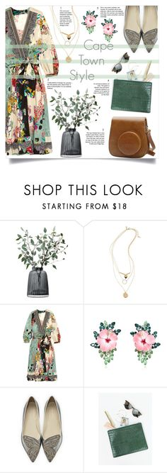 """""""Cape Town Style"""" by jaudrey ❤ liked on Polyvore featuring LSA International, Topshop, Etro, Fujifilm, Dsquared2, Sophia Webster and Status Anxiety"""