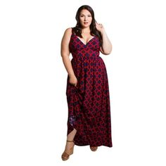 Sealed with a Kiss Women's Plus Size Farrah Maxi Dress - Free Shipping Today - Overstock.com - 19002479 - Mobile