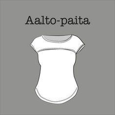 Kangaskapina, Aalto-paidan kaava