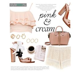 """""""pink&cream"""" by mirisproleca ❤ liked on Polyvore featuring summerstyle and pinkandcream"""