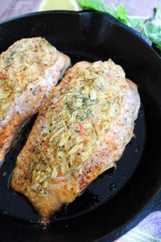 seafood – Maral in the Kitchen Crab Stuffed Salmon, Salmon And Shrimp, Grilled Salmon, Crab Meat Recipes, Baked Salmon Recipes, Shrimp Recipes, Salmon Dishes, Fish Dishes, Seafood Dinner