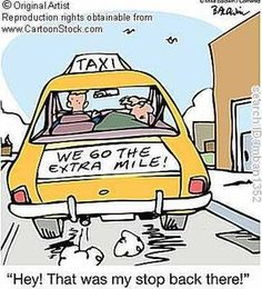 Idea of how our taxi works.. Could also be a fun advertisement to promote our service