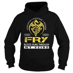 FRY BLOOD RUNS THROUGH MY VEINS (DRAGON) - LAST NAME, SURNAME T-SHIRT T-SHIRTS, HOODIES, SWEATSHIRT (39.99$ ==► Shopping Now)
