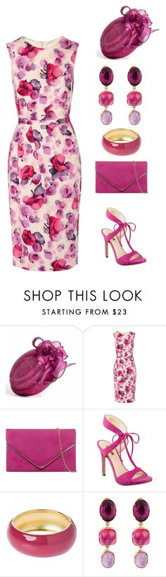 """Fuschia, Mauve, and Amethyst 2016"" by rovereddo ❤ liked on Polyvore featuring Goat, GUESS, Benetton and Goossens"