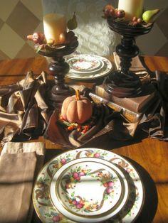 Thanksgiving Day centerpiece