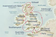 British Isle Cruise. Touristy stuff plus a visit with the Ardemans.  Maybe in 2013.