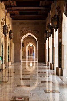 Sultan Qaboos Grand Mosque - Muscat, Masqat