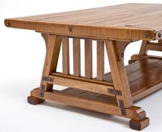 Arts & Crafts Furniture, Mission Coffee Table, Bungalow Style Furniture, Arts and Crafts Industrial Furniture, Wooden Furniture, Cool Furniture, Furniture Design, Furniture Outlet, Furniture Stores, Craftsman Style Furniture, Mission Style Furniture, Arts And Crafts Furniture