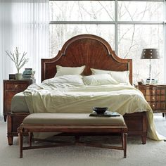 Stanley Avalon Heights Panel Bed | Wayfair