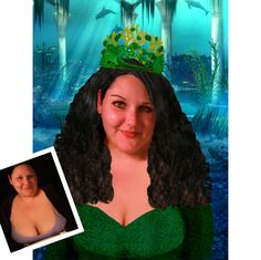 Mermaid Makeover Custom Fantasy Mermaid Portrait by InArtStudio2, $450.00
