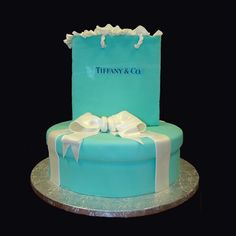 Shopping at Tiffany's Specialty Cake (what I want for my 21st)