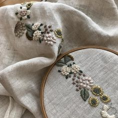 how to do french knots embroidery No photo description available. Love the placement french knots in cross stitch Embroidery by kasia jacquot French Knot Embroidery, Hand Embroidery Flowers, Crewel Embroidery Kits, Embroidery On Clothes, Couture Embroidery, Simple Embroidery, Hand Embroidery Patterns, Ribbon Embroidery, Floral Embroidery