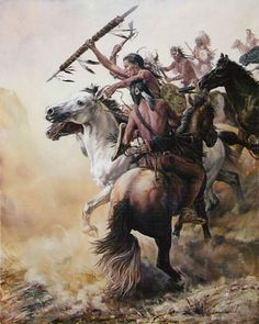 Hanta Yo Native American Painting