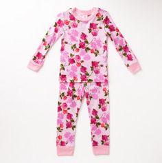 Girls Floral Romance Pajamas - Kids' Cute Pajama Deals - Events