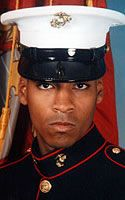 Marine Corps Lance Cpl. Marcus M. Cherry  Died April 6, 2004 Serving During Operation Iraqi Freedom  18, of Imperial, Calif.; assigned to 2nd Battalion, 4th Marines, 1st Marine Division, I Marine Expeditionary Force, Camp Pendleton, Calif.; killed April 6 by hostile fire in Anbar province, Iraq.