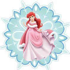 Disney Princess Snowflakes - Ariel
