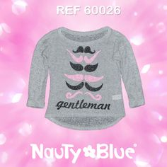 REF 60026 ♥ Be Magic, Be Yourself, Be Nauty Blue ♥