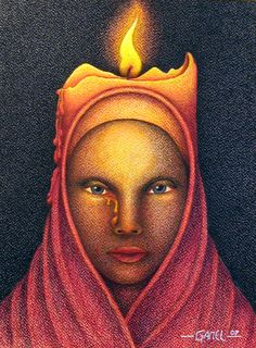 The Candle by Jose-Garel-Alvoeiro.deviantart.com on @deviantART