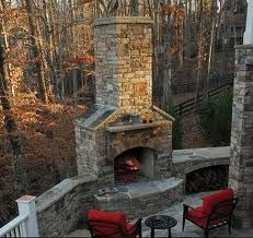 1000 images about trafalgar patio fireplace on pinterest for Wood burning outdoor fireplace kits