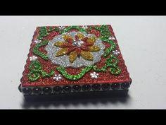 DIY CAJA DE GOMA EVA - YouTube.   LOLA TEMPRADO Decorative Boxes, Creative, Camera Phone, Google, Decorated Boxes, Ornaments, Jelly Beans, Cold Porcelain, Decorative Storage Boxes