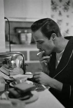 SILVER BULLET MEDIA: Marlon Brando by Ed Clark - 1949