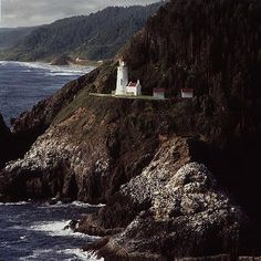 Lighthouse near Juneau, AK. ... I haven't been to Juneau yet, but I'm pretty eager to check it out.