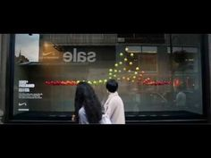 NIKE INTERACTIVE WINDOW DISPLAYS