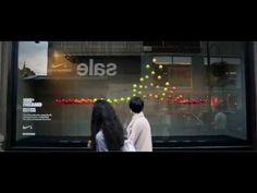 Escaparate interactivo de #Nike #London