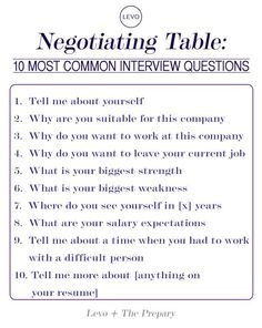 10 Common interview questions! The author, Jaime Petkanics, walks you through the questions she finds most important, the first three.
