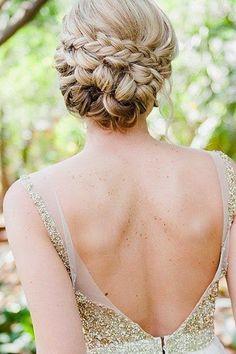 Lady Selva: Detalles de Bodas Bonitas: Recogidos con trenzas