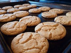 Only From Scratch: Day Gingersnaps Chewy* Brownie Cookies, Ginger Snaps, Christmas Baking, Holiday Recipes, Sweets, Desserts, I'm Fat, Sweet Stuff, Brownies