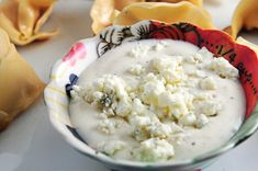 Bleu Cheese Dip Recipe - Cooking | Add a Pinch Great dip.  Wish I would have found it earlier.