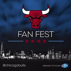 #ChicagoBasketball is back! Headed to the home opener on October 31 to watch the Bulls take on the Knicks? Visit the Chicago Bulls' Fan Fest brought to you by Bud Light outside the United Center at Gate 4 starting at 5:15 p.m. Bulls.com/fanfest for more info