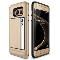 Verus Damda Clip Samsung Galaxy S7 Edge Case - Shine Gold