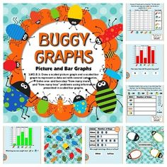 Buggy Graphs SMART BOARD Game - Common Core Aligned - Interpret and complete bar graphs and picture graphs in this fun, bug-filled SMART BOARD game. This self-checking Smart Board game is based on the 3rd grade common core standard 3.MD.B.3. $