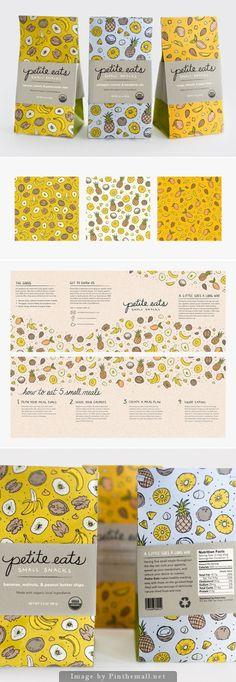Petite Eats by Corinne Alexandra #branding #packaging product design