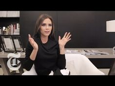 Victoria Beckham Interview | In the Studio | The New York Times - YouTube