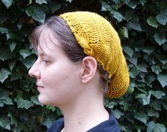 Sprang hairnet by Andrea Wagner