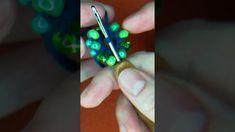 Ferde gyöngy horgolás- óriás gyöngyökkel