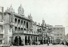 South India Cooperative Insurance Society and V G Panneerdas on Mount Road. Madras (Pictures: Vintage Vignettes)