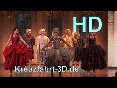 AIDA Show Eine Große Nachtmusik (Tanzshow zu Musik von Mozart)  costume design dirk zilken design dzd for AIDA