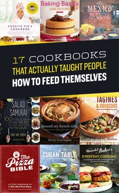 17 Cookbooks That Actually Taught People How To Feed Themselves