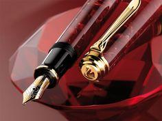 Image detail for -Pelikan fountain pen - Pelikan M600 Ruby Red Fountain Pen - Special ...