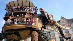 Festival Nantais Éléphant géant