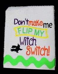 Witch Switch for Kitchen Towels - 2 Sizes! | What's New | Machine Embroidery Designs | SWAKembroidery.com Nobbie Neez Kids
