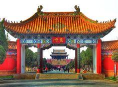 Imperial palace Kaifeng China