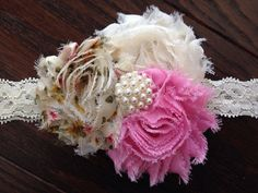 Baby girl headband toddler headband newborn by AverysChicBoutique, $12.00